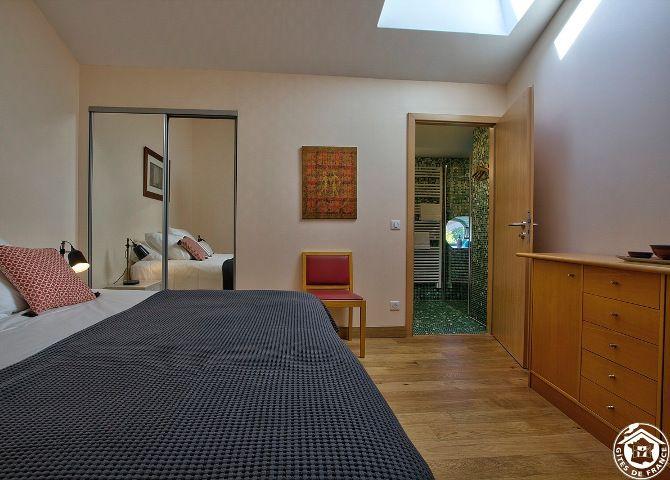 Gîte Varey - Chambre vue 2 chambre d'hôte ain gite de France ain